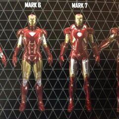 Mark V to Mark VIII.