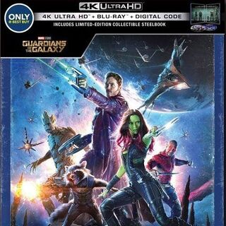 Guardians of the Galaxy Best Buy Exclusive Steelbook 4K Blu Ray