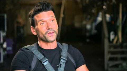"Captain America The Winter Soldier Frank Grillo ""Brock Rumlow"" Official On Set Interview"