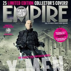 Future Professor X on the cover of <i>Empire</i>.