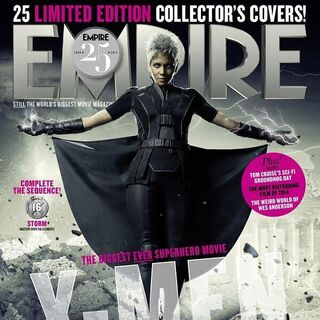 Future Storm on the cover of <i>Empire</i>.