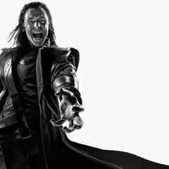 Loki - black and white art