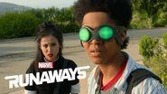 Marvel's Runaways Season 3 Behind the Scenes Interview!