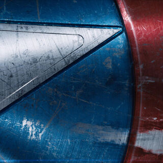 Cap's shield featured in the end credits