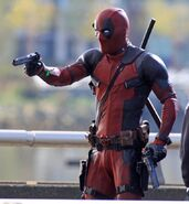 Deadpool Filming 28
