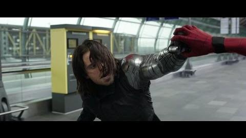 The Winter Soldier - Fight Moves Compilation HD-0