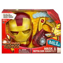 Mask & Repulsor Gauntlet