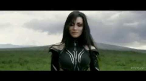 THOR RAGNAROK KNEEL FOR YOUR QUEEN MOVIE CLIP LQ