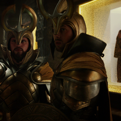 Einherjar guarding prisoners in the dungeons