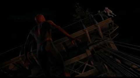 Spider-Man Lands On Brooklyn Bridge (Extended Scene) - Spider-Man (1080p)