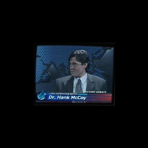 Steve Bacic's cameo as Hank McCoy