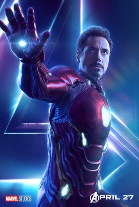 Stark Iron Man InfinityWar poster