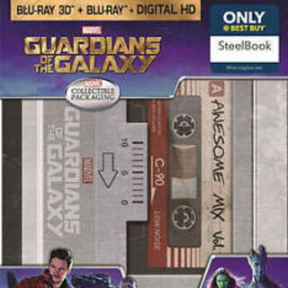 Guardians of the Galaxy Best Buy Exclusive Steelbook 3D Blu Ray