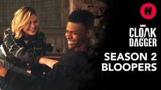 Official Season 2 Blooper Reel Marvel's Cloak & Dagger Freeform