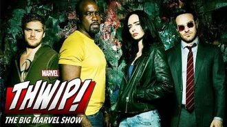 Sneak on the set of the Defenders on THWIP! The Big Marvel Show!