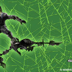 Harry Osborn as the Green Goblin