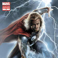 Thor Avengers prequel comic #2 cover.