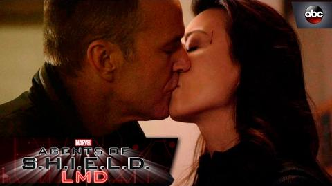 Coulson and May Kiss - Marvel's Agents of S.H.I.E.L.D.