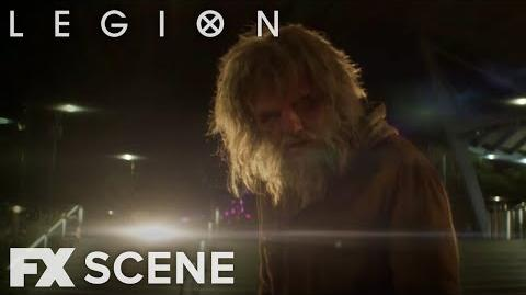 Legion Season 2 Ep. 6 Homeless David Scene FX