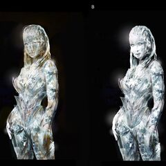 Concept art for Emma Frost in <i>X-Men: First Class</i>.
