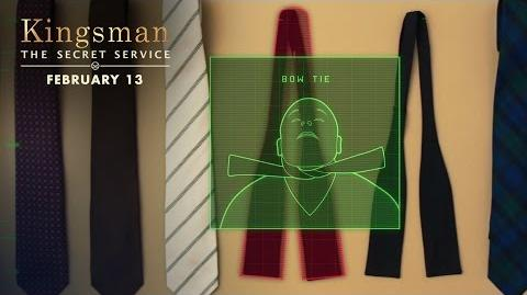 Kingsman The Secret Service How To Be A Kingsman Tying A Tie HD 20th Century FOX