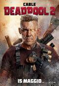 Deadpool 2 Italian Poster 01