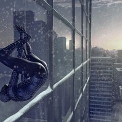 Concept art for Black Spider-Man.
