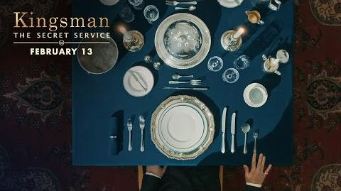 Kingsman The Secret Service How To Be A Kingsman Proper Utensils HD 20th Century FOX