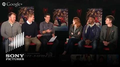 """The Amazing Spider-Man 2"" - LIVE Google+ Shoppable Hangout"