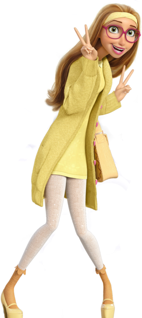 Honey Lemon Normal Render