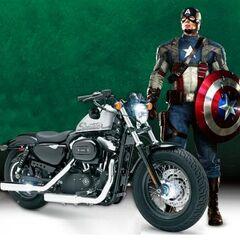 Promo of The Harley-Davidson Cross Bones motorcycle 2010.