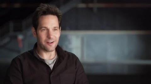 "Captain America Civil War Paul Rudd ""Scott Lang"" Behind the Scenes Interview"