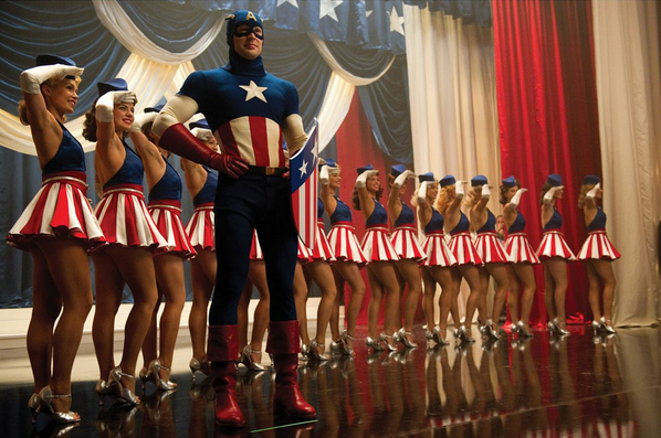Image result for captain america the first avenger star spangled man