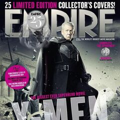 Future Magneto on the cover of <i>Empire</i>.
