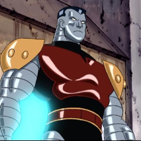 Colossus arrives to fight the X-Men.