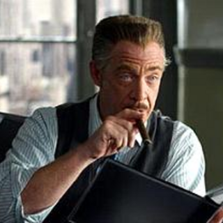 J. Jonah Jameson with his trademark cigar