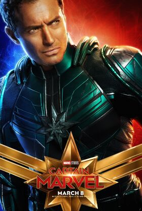 Captain Marvel Character Poster 03