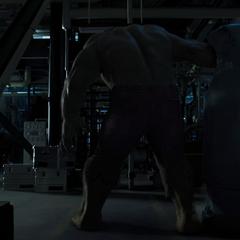 Hulk transformed.