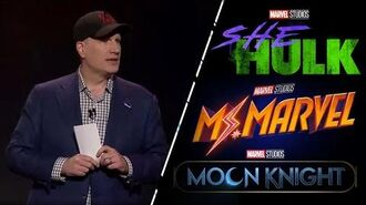 Marvel Studios Announces THREE New Shows and More for Disney+!