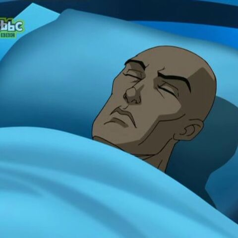 Professor Xavier in his coma.