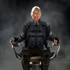 Concept art for Professor X in <i>X-Men: Days of Future Past</i>.