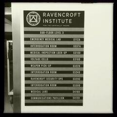 Ravencroft super-villains' prison teased.