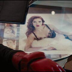Natalie on Tony's Computer