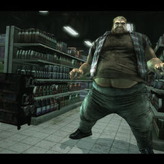 Blob as seen in the X-Men Origins: Wolverine Videogame Adaptation.