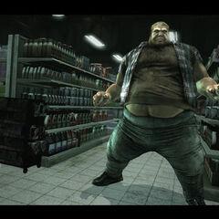 Blob as seen in the X-Men Origins: Wolverine Videogame Adaptation.
