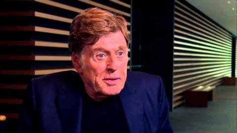 "Captain America The Winter Soldier Robert Redford ""Alexander Pierce"" Official On Set Interview"