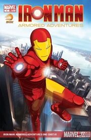 300px-Iron Man Armored Adventures Vol 1 1 Textless