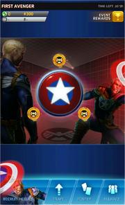 First Avenger Event Screen