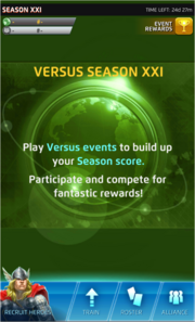 Season XXI Screen