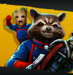 Uniform Rocket Groot